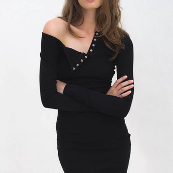 Soyraya Dress - Black – Style Addict