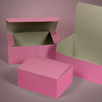 Classic Pink Bakery Box - Set of 5
