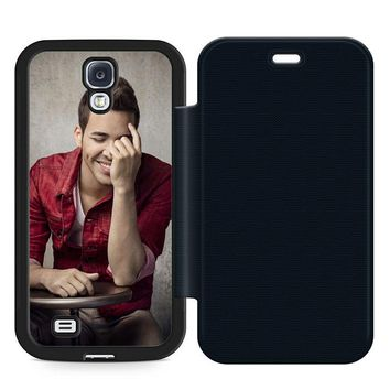 Prince Royce Cool Leather Wallet Flip Case Samsung Galaxy S4