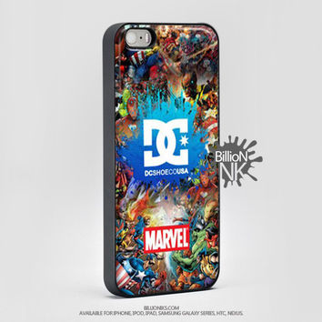 Dc Marvel Avangers Stiker Bomb Phone Case For Iphone, Ipod, Samsung Galaxy, Htc