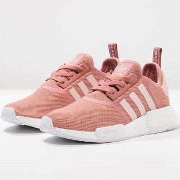 Women Adidas Fashion Trending Pink Leisure Running Sports Shoes I