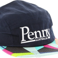 Penny 5 Panel Hat Adjustible Slater Navy