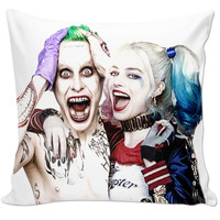 Joker And Harley Quinn Pillow