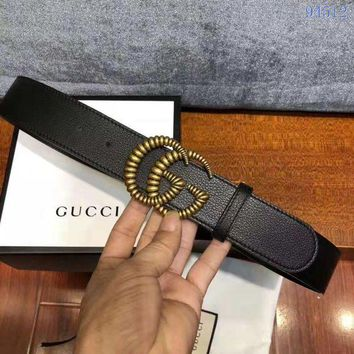 DCCK GUCCI Belt Top quality Women Fashion Jewellery Buckle Belt GG LOGO Leather Belt GUCCI