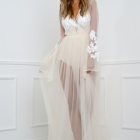 Janice Gown  - Nude
