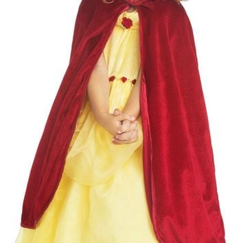 Little Adventures Red Velvet Cloak