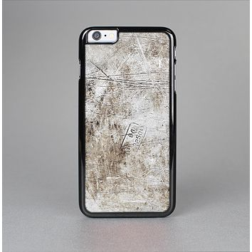 The Vintage Scratched and Worn Surface Skin-Sert Case for the Apple iPhone 6