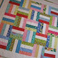 Quilted Table Topper/Wall Hanging--Beach House