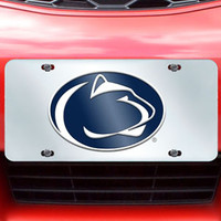 "Penn State license plate inlaid 6""x12"""