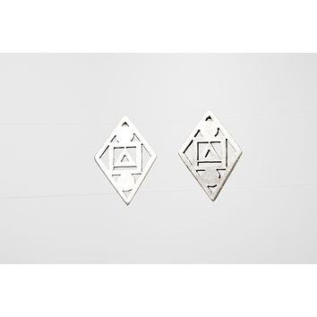 Silver Plated Fashion Earrings
