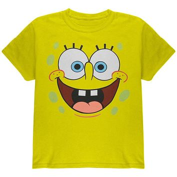 Spongebob - I'm Ready Yellow Youth Costume T-Shirt