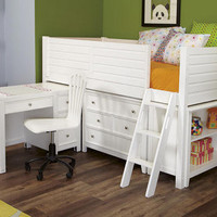 Dixie Twin Jr. Scholar Loft Bed