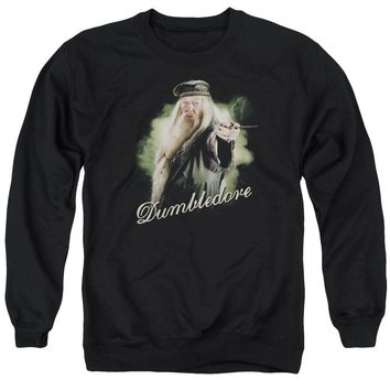Harry Potter - Dumbledore Wand Adult Crewneck Sweatshirt Officially Licensed Apparel