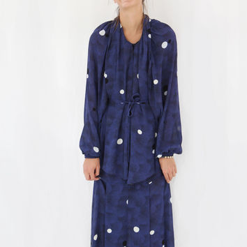Rodebjer Yara Moons Dress Blue