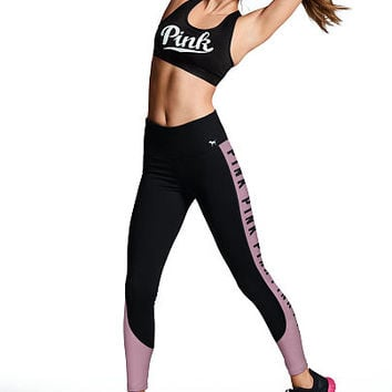 Cotton High-Waisted Legging - PINK - Victoria's Secret
