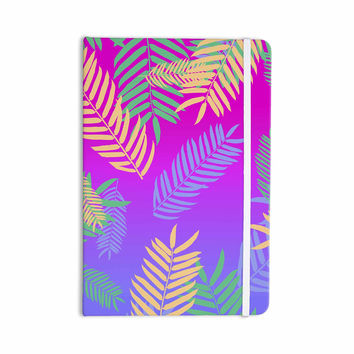 "Vasare Nar ""Tropical Cocktail"" Magenta Multicolor Art Deco Pop Art Everything Notebook"