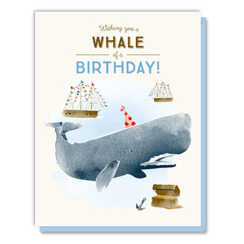 Whale of a Birthday Card