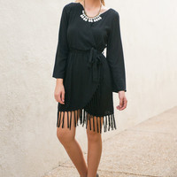 Best Fringe Forever Dress, Black