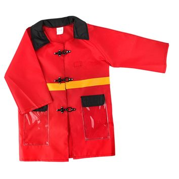 Children Fire Chief Role Play Clothing Costume Halloween Cosplay Toy Kids Pretend Dress Up Toy