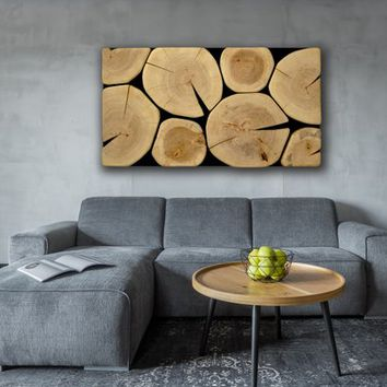 wall art large size, 3D wood wall decor, wooden slabs art,