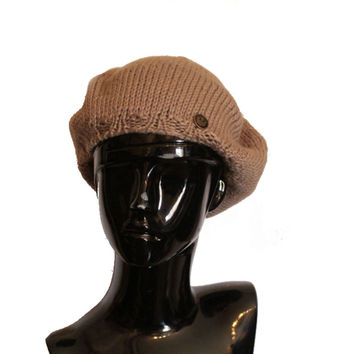 French Beret Knit Hat