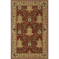 Throw Rug - 2' X 3' - Lily-pad-green