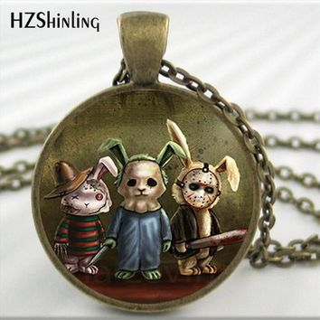 Horror Bunny Necklace