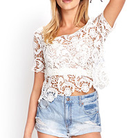 Spun Sugar Crop Top