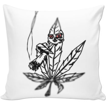 Smoking Weed Pillow