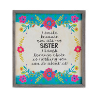 Sister Framed Art
