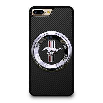 FORD MUSTANG LOGO iPhone 4/4S 5/5S/SE 5C 6/6S 7 8 Plus X Case