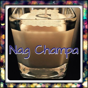 Nag Champa Scented Soy Candles