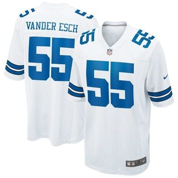 Youth Dallas Cowboys Leighton Vander Esch Nike White Game Jersey