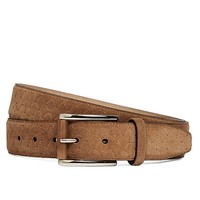 Suede Woven Dress Belt - Brooks Brothers