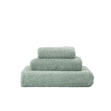 Super Pile Aqua Towels by Abyss and Habidecor