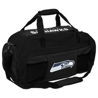 Seattle Seahawks NFL Tuck Sport Gym Bag (Black)