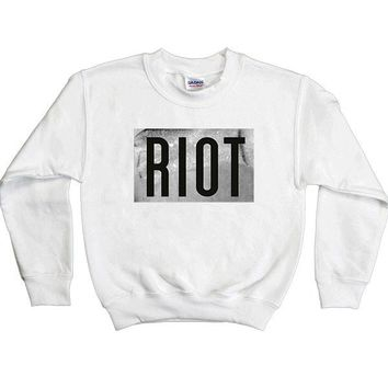 RIOT -- Youth Sweatshirt