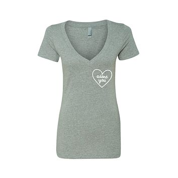 "Harry Styles ""Adore You Heart CORNER"" V-Neck T-Shirt"