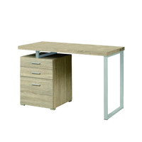 """Natural Reclaimed-Look Left Or Right Facing 48""""L Desk"""