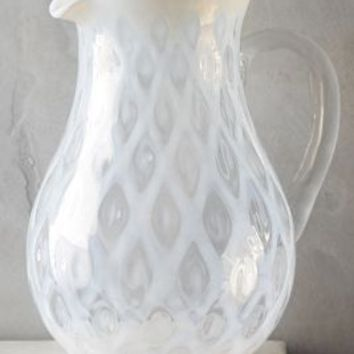 Miruna Pitcher by Anthropologie in White Size: Pitcher Serveware
