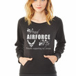 air force wife ladies sweatshirt
