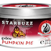 Pumpkin Pie Starbuzz Shisha Tobacco at Hookah Company