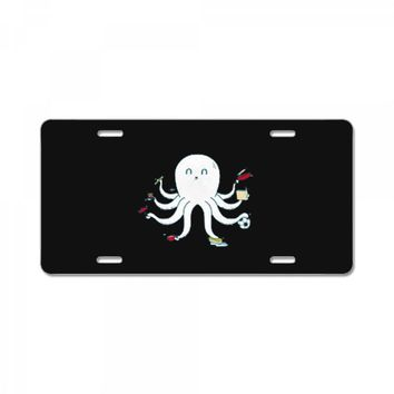 octopus License Plate