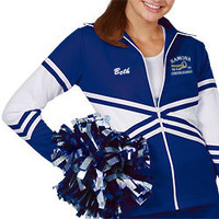 Double Knit X-Style Cheerleader Warm-Up Jacket
