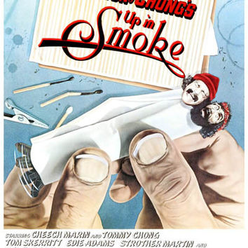 cheech and chong up in smoke movie poster from bananaroad posters. Black Bedroom Furniture Sets. Home Design Ideas