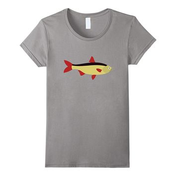 Cartoon Fish Relaxed Fit T-Shirt