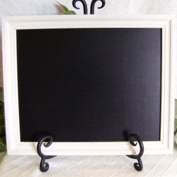 White Framed Chalkboard, framed chalk board, Chalkboard frame, white framed chalk board, wedding chalkboard, decorative chalkboard