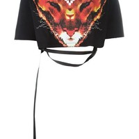 Marcelo Burlon County Of Milan 'valencia' Crop Top - Bonvicini - Farfetch.com