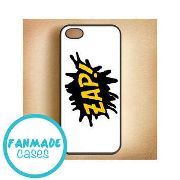 ZAP tattoo iPhone 4/4s 5/5s/5c & iPod 4/5 Rubber Case