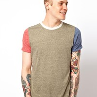 Supreme Being | Supremebeing T-Shirt Colour Block at ASOS